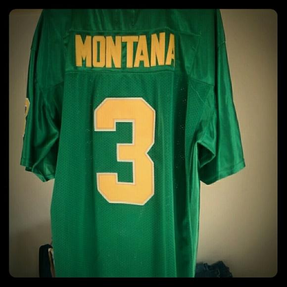 online store 57d07 3819a Vintage Joe Montana Notre Dame Jersey!